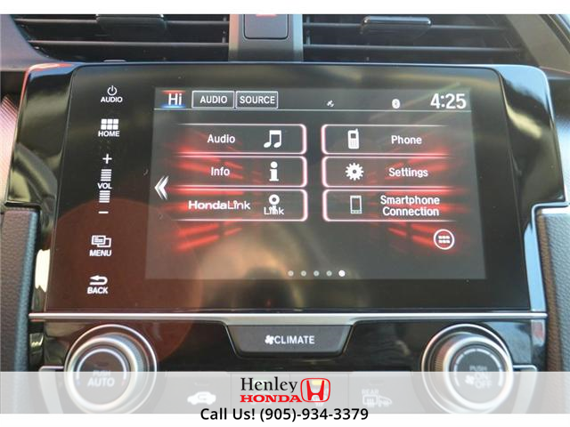 2017 Honda Civic LX BLUETOOTH HEATED SEATS BACK UP CAMERA (Stk: R9300) in St. Catharines - Image 14 of 17