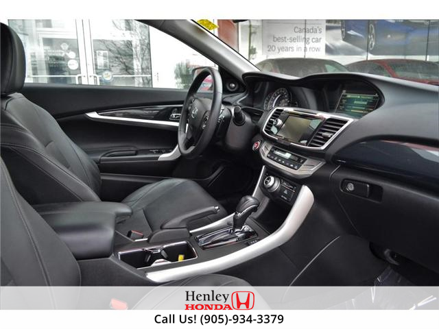 2014 Honda Accord EX-L-NAVI LEATHER BLUETOOTH HEATED SEATS BACK UP (Stk: B0814) in St. Catharines - Image 5 of 25