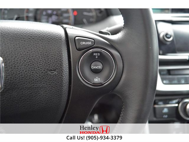 2014 Honda Accord EX-L-NAVI LEATHER BLUETOOTH HEATED SEATS BACK UP (Stk: B0814) in St. Catharines - Image 12 of 25