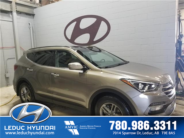 2017 Hyundai Santa Fe Sport 2.4 Luxury (Stk: 9SF4385A) in Leduc - Image 2 of 7