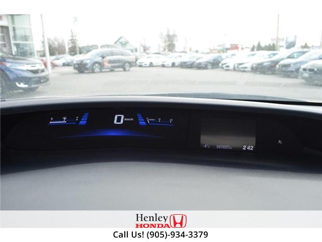 2015 Honda Civic LX BLUETOOTH HEATED SEATS BACK UP CAMERA. (Stk: B0817) in St. Catharines - Image 17 of 25