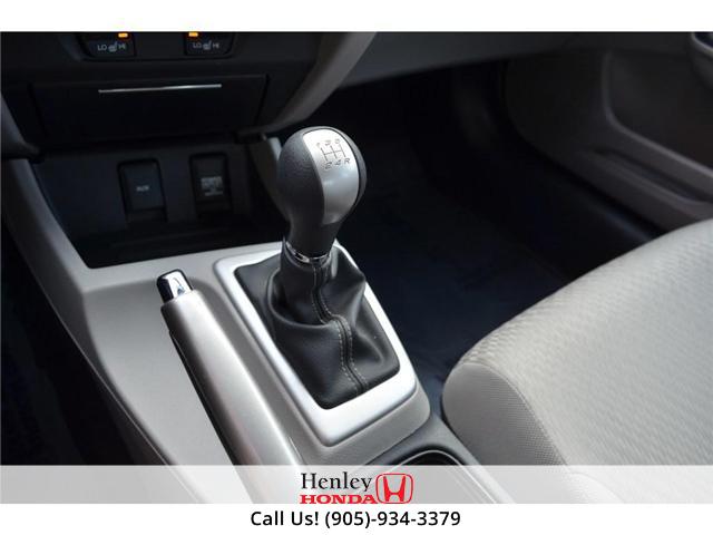 2015 Honda Civic LX BLUETOOTH HEATED SEATS BACK UP CAMERA. (Stk: B0817) in St. Catharines - Image 20 of 25
