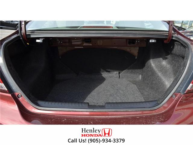 2015 Honda Civic LX BLUETOOTH HEATED SEATS BACK UP CAMERA. (Stk: B0817) in St. Catharines - Image 25 of 25