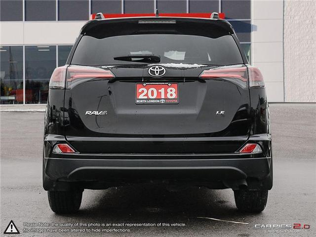 2018 Toyota RAV4 LE (Stk: A219289) in London - Image 5 of 27