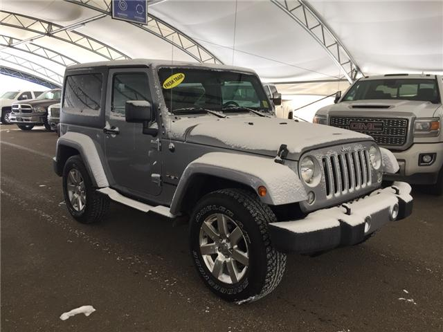 2016 Jeep Wrangler Sahara (Stk: 151820) in AIRDRIE - Image 1 of 17