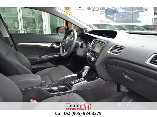 2015 Honda Civic EX SUNROOF ALLOY WHEELS BLUETOOTH HEATED SEATS (Stk: R9306) in St. Catharines - Image 7 of 22
