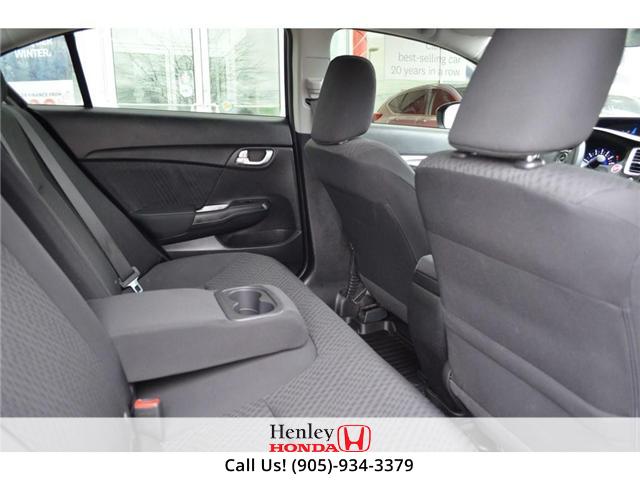 2015 Honda Civic EX SUNROOF ALLOY WHEELS BLUETOOTH HEATED SEATS (Stk: R9306) in St. Catharines - Image 9 of 22