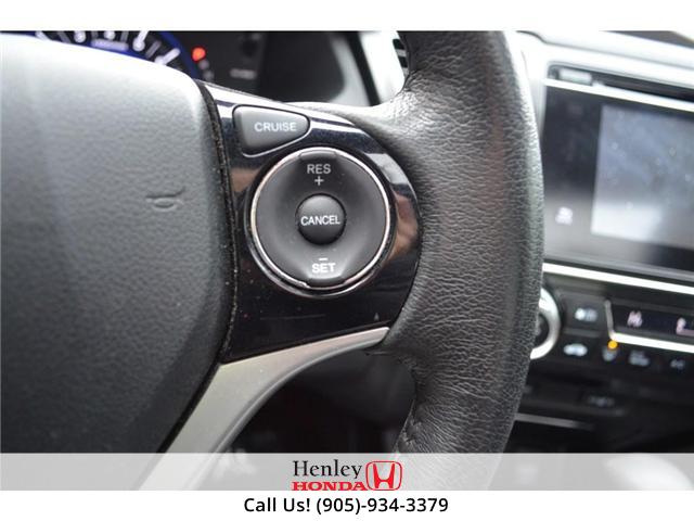 2015 Honda Civic EX SUNROOF ALLOY WHEELS BLUETOOTH HEATED SEATS (Stk: R9306) in St. Catharines - Image 14 of 22
