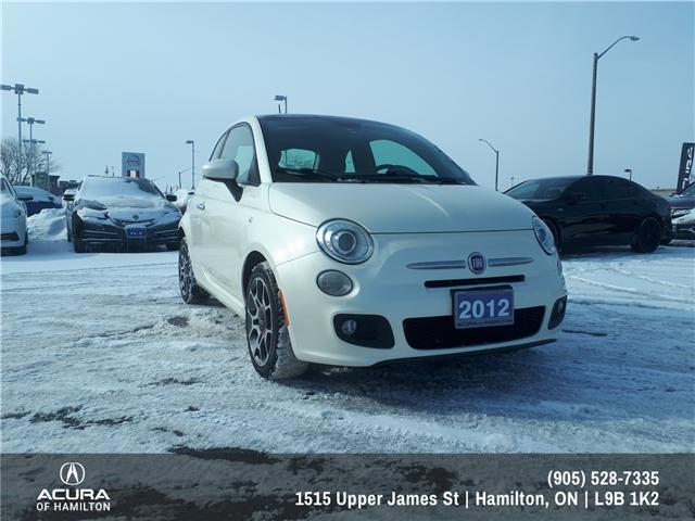 2012 Fiat 500 Sport (Stk: 1202621) in Hamilton - Image 1 of 14