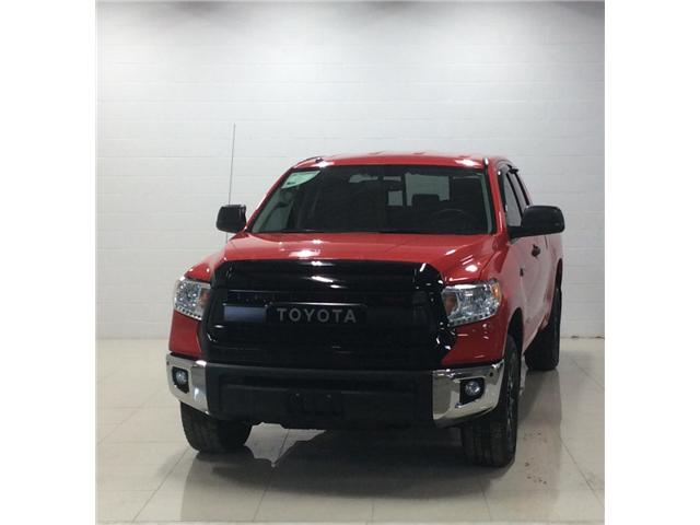 2016 Toyota Tundra SR 5.7L V8 (Stk: T18373A) in Sault Ste. Marie - Image 1 of 13