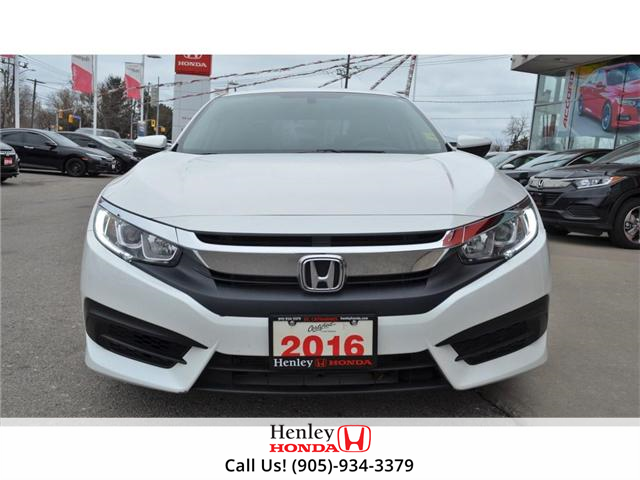 2016 Honda Civic EX SUNROOF ALLOY WHEELS BLUETOOTH HEATED SEATS (Stk: H17877A) in St. Catharines - Image 3 of 23