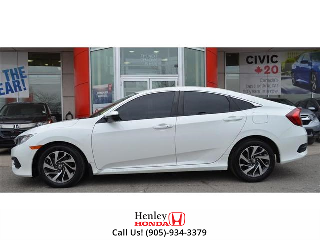 2016 Honda Civic EX SUNROOF ALLOY WHEELS BLUETOOTH HEATED SEATS (Stk: H17877A) in St. Catharines - Image 5 of 23