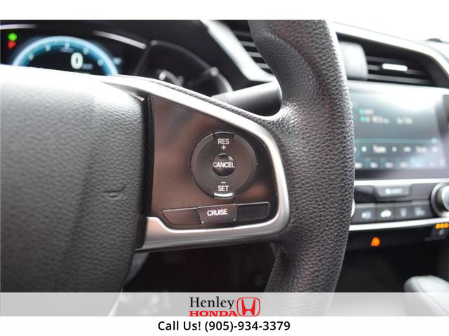 2016 Honda Civic EX SUNROOF ALLOY WHEELS BLUETOOTH HEATED SEATS (Stk: H17877A) in St. Catharines - Image 15 of 23