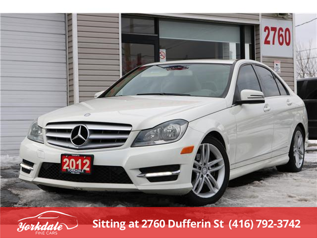 2012 Mercedes-Benz C-Class  (Stk: D0125) in North York - Image 1 of 23