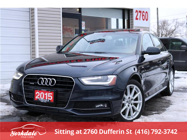 2015 Audi A4  (Stk: S3299) in North York - Image 1 of 24