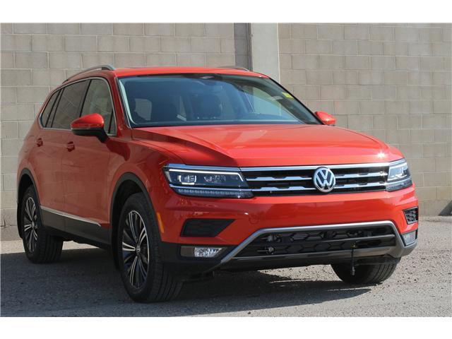 2018 Volkswagen Tiguan Highline (Stk: 68595) in Saskatoon - Image 1 of 21