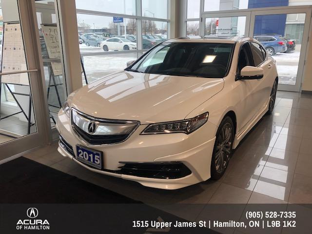 2015 Acura TLX Tech (Stk: 1513260) in Hamilton - Image 1 of 14
