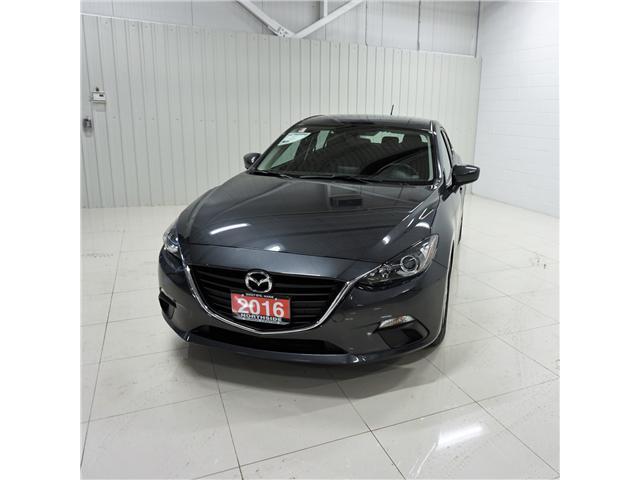 2016 Mazda Mazda3 GS (Stk: M18293A) in Sault Ste. Marie - Image 1 of 12