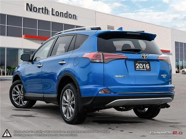 2016 Toyota RAV4 Limited (Stk: A219360) in London - Image 4 of 27