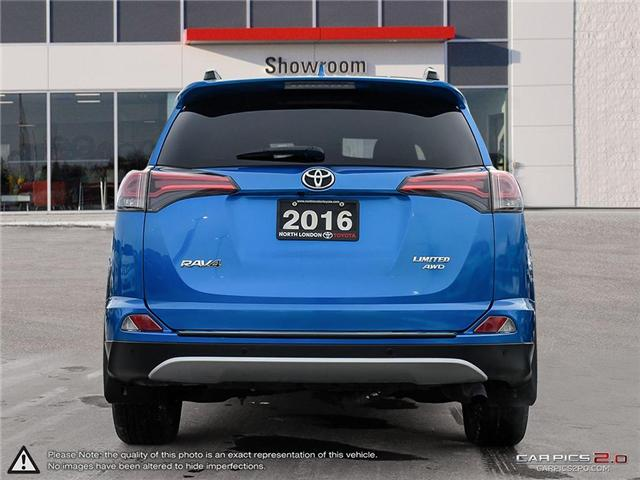 2016 Toyota RAV4 Limited (Stk: A219360) in London - Image 5 of 27