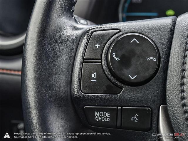 2017 Toyota RAV4 Hybrid SE (Stk: U10968) in London - Image 11 of 27