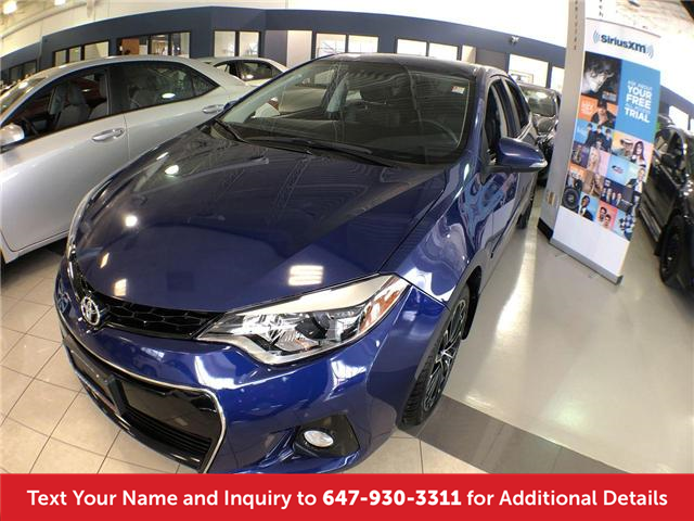 2014 Toyota Corolla S (Stk: 19894) in Mississauga - Image 1 of 10