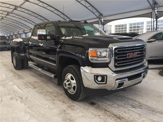 2018 GMC Sierra 3500HD SLT (Stk: 168099) in AIRDRIE - Image 1 of 23