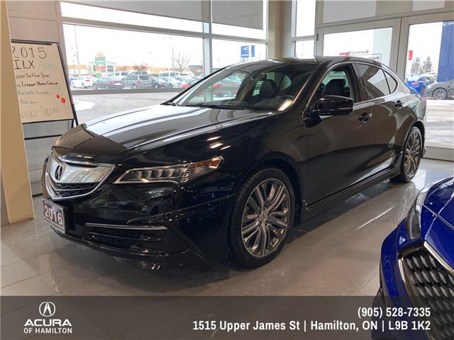 2016 Acura TLX Tech (Stk: 1613300) in Hamilton - Image 2 of 11