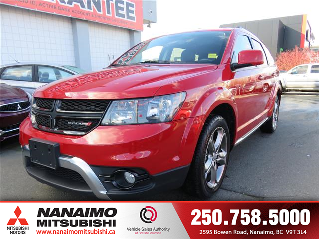 2017 Dodge Journey Crossroad (Stk: 8T3922A) in Nanaimo - Image 1 of 11