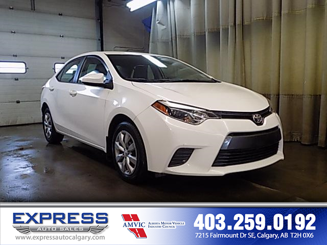 2016 Toyota Corolla CE (Stk: P15-1010A) in Calgary - Image 1 of 17