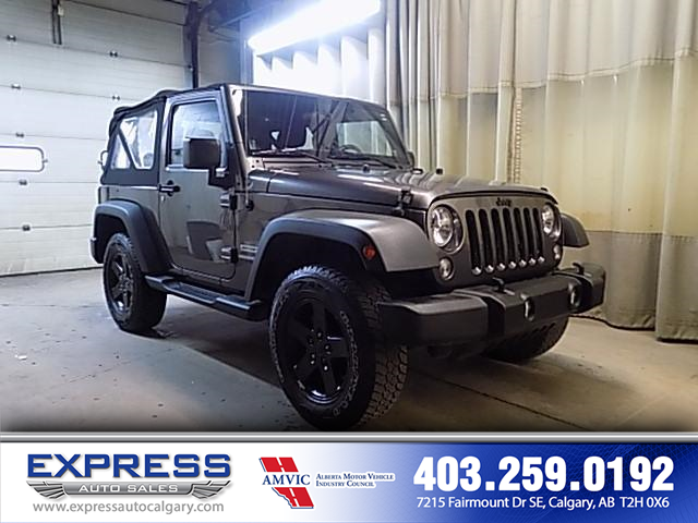 2014 Jeep Wrangler Sport (Stk: P15-0968A) in Calgary - Image 1 of 17