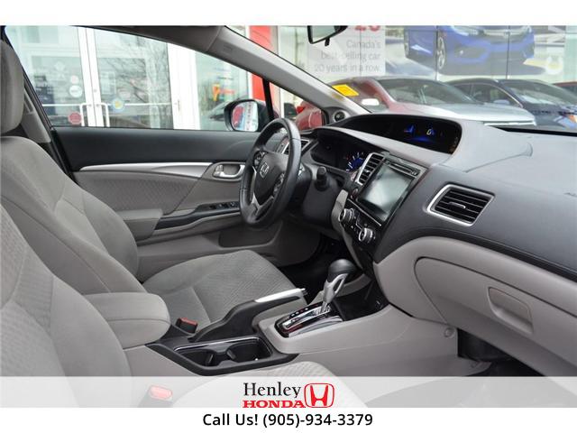 2015 Honda Civic EX SUNROOF ALLOY WHEELS BLUETOOTH BACK UP (Stk: B0822) in St. Catharines - Image 8 of 23