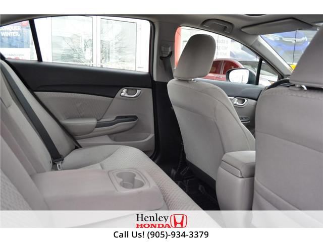 2015 Honda Civic EX SUNROOF ALLOY WHEELS BLUETOOTH BACK UP (Stk: B0822) in St. Catharines - Image 10 of 23