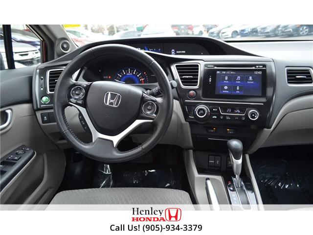 2015 Honda Civic EX SUNROOF ALLOY WHEELS BLUETOOTH BACK UP (Stk: B0822) in St. Catharines - Image 12 of 23