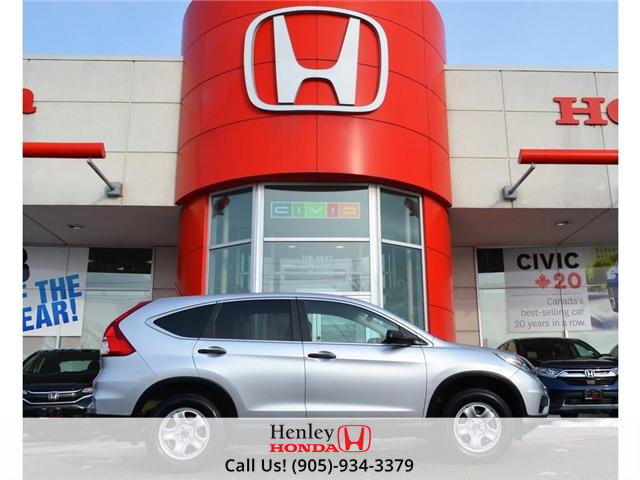 2015 Honda CR-V LX BLUETOOTH HEATED SEATS BACK UP CAMERA (Stk: R9318) in St. Catharines - Image 1 of 23