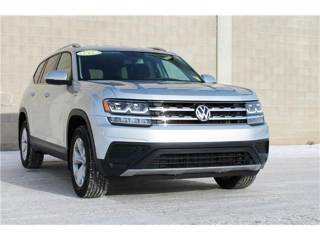 2018 Volkswagen Atlas 3.6 FSI Trendline 1V2HR2CA0JC515085 V7028 in Saskatoon