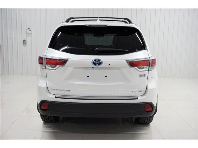 2015 Toyota Highlander Hybrid Limited (Stk: P5165) in Sault Ste. Marie - Image 4 of 22