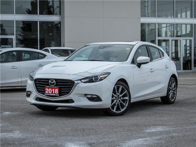 2018 Mazda Mazda3 GT (Stk: P5035) in Ajax - Image 1 of 23