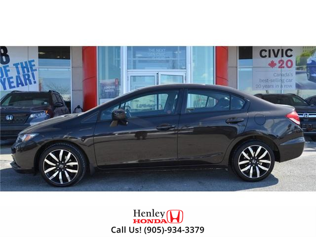 2014 Honda Civic Touring FULLY LOADED NAV LEATHER SUNROOF BACK UP (Stk: R9324) in St. Catharines - Image 5 of 27