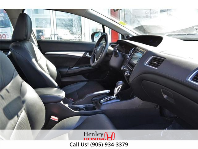 2014 Honda Civic Touring FULLY LOADED NAV LEATHER SUNROOF BACK UP (Stk: R9324) in St. Catharines - Image 8 of 27