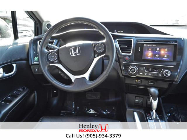 2014 Honda Civic Touring FULLY LOADED NAV LEATHER SUNROOF BACK UP (Stk: R9324) in St. Catharines - Image 12 of 27