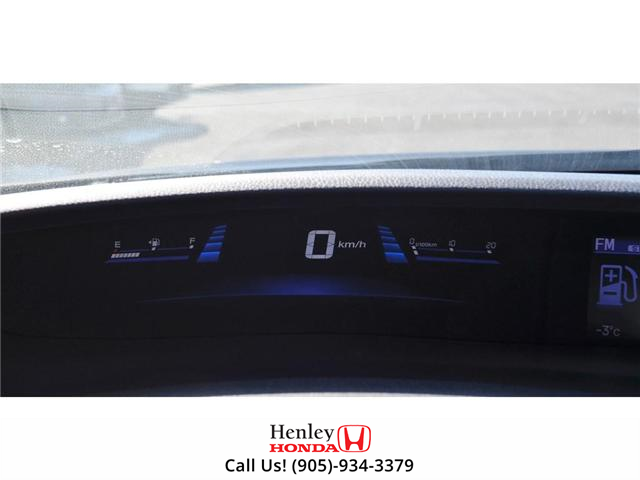 2014 Honda Civic Touring FULLY LOADED NAV LEATHER SUNROOF BACK UP (Stk: R9324) in St. Catharines - Image 16 of 27
