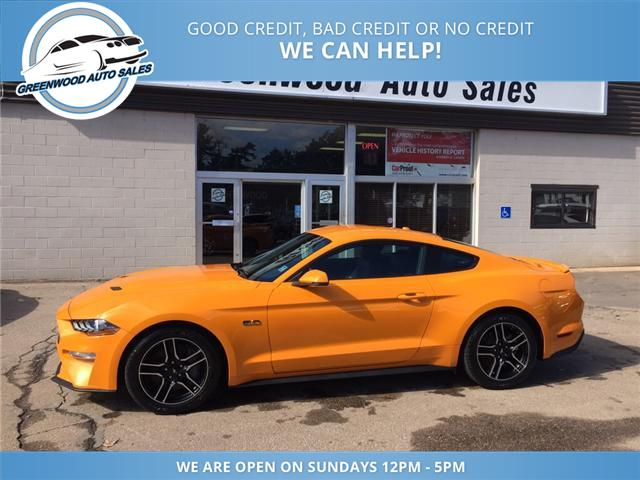 2018 Ford Mustang GT Premium (Stk: 18-60345) in Greenwood - Image 1 of 18