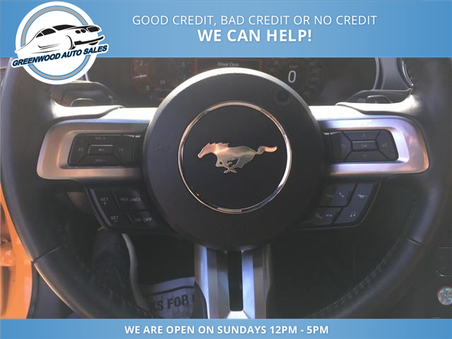 2018 Ford Mustang GT Premium (Stk: 18-60345) in Greenwood - Image 14 of 18