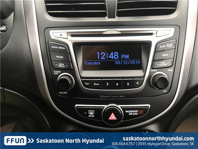 2017 Hyundai Accent LE (Stk: 39064A) in Saskatoon - Image 9 of 11