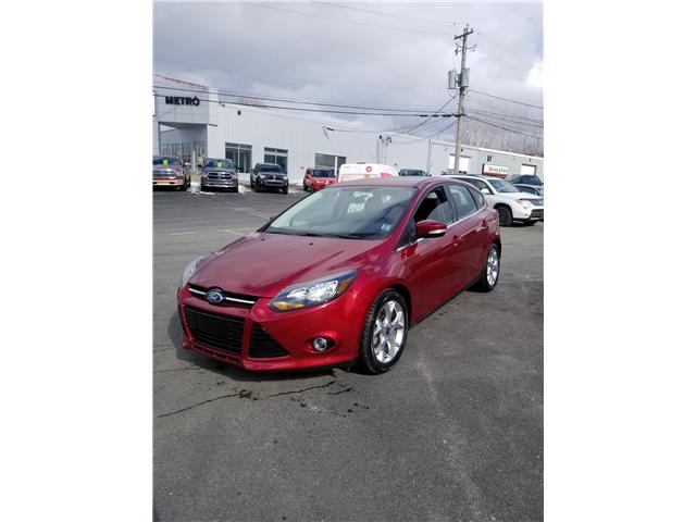 2014 Ford Focus Titanium Hatch (Stk: p19-053) in Dartmouth - Image 1 of 11