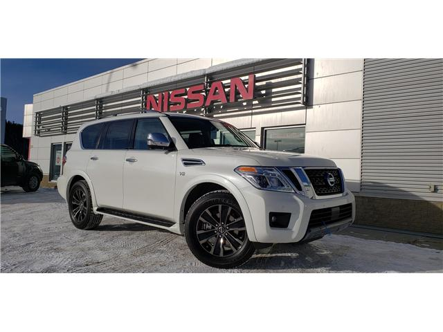 2019 Nissan Armada Platinum (Stk: 9AR1191) in Whitehorse - Image 1 of 28