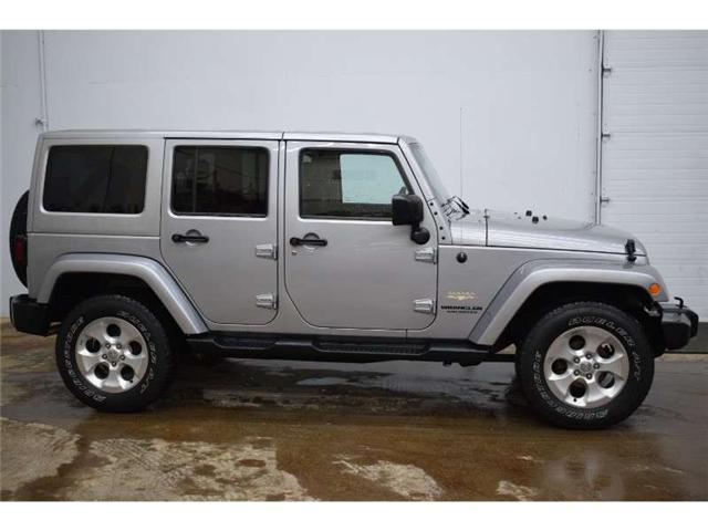 2015 Jeep Wrangler Unlimited SAHARA 4X4 - NAV * TOUCH SCREEN * HARD TOP (Stk: B3408) in Kingston - Image 1 of 30