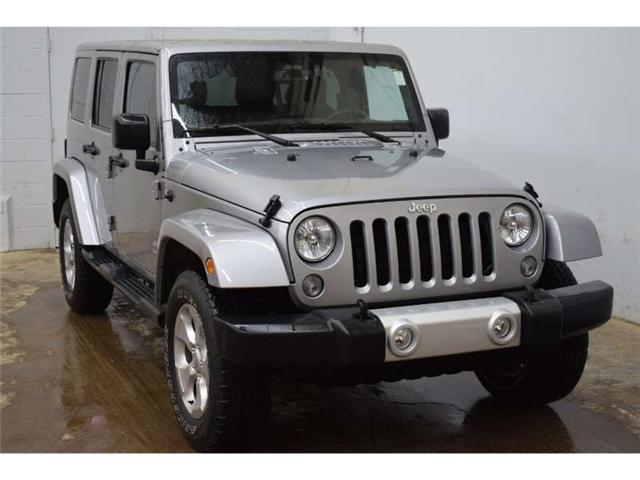2015 Jeep Wrangler Unlimited SAHARA 4X4 - NAV * TOUCH SCREEN * HARD TOP (Stk: B3408) in Kingston - Image 2 of 30