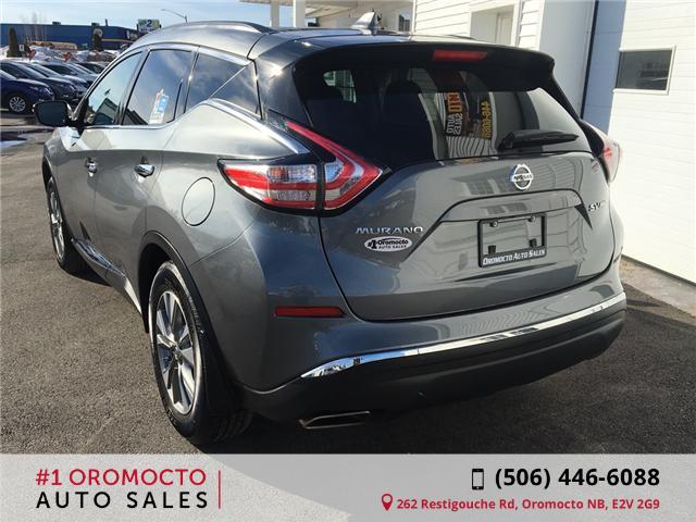 2018 Nissan Murano SV (Stk: 078) in Oromocto - Image 2 of 18